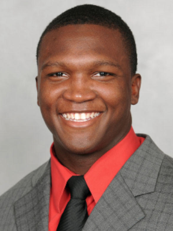University of Maryland running back Wes Brown in a University of Maryland media guide photo