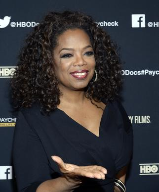 Oprah Winfrey is a Chicago-based TV talk show host?<br>