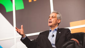 Mayor Rahm Emanuel in salesman mode at SXSW