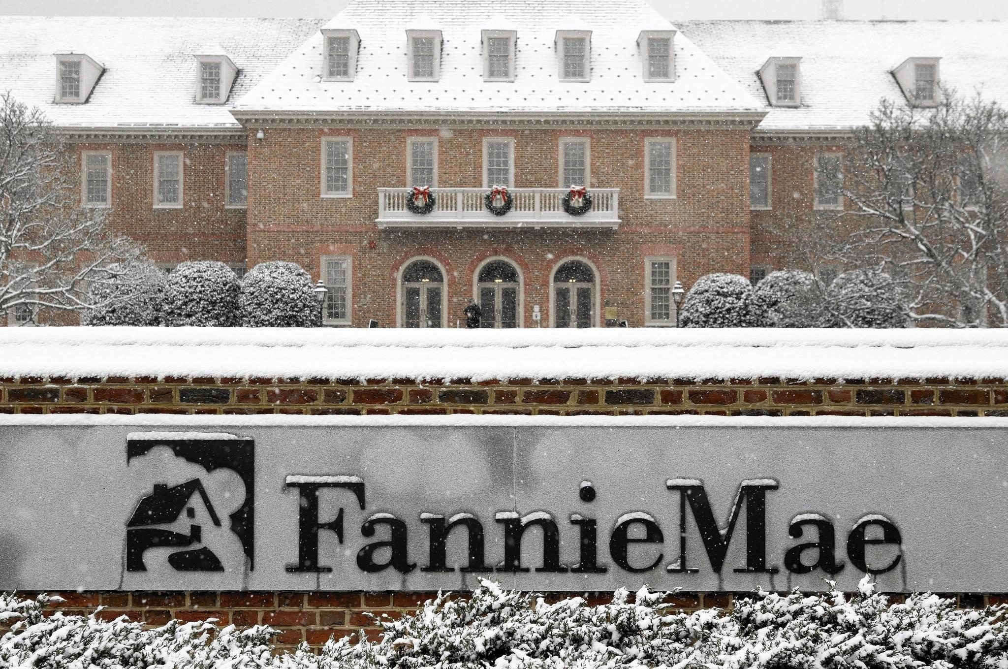 Fannie Mae and Freddie Mac, which together own or guarantee about 60% of existing mortgages, were seized by the federal government in 2008 as they neared bankruptcy from bad loans they guaranteed during the subprime housing boom.