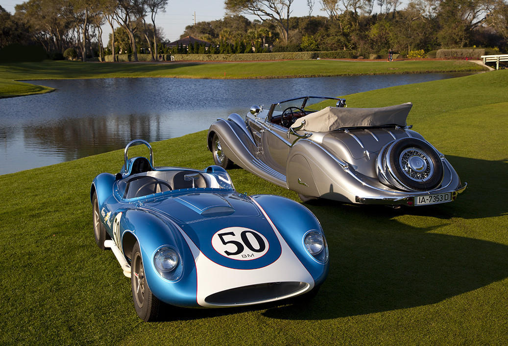Amelia Island Classic Car Bids Surge As Rare Marques Win Trophies - Amelia island classic car show