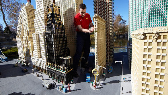 Miniland USA will be the centerpiece of Legoland Florida.