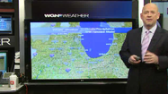 Video: Snow ends early, cold temps move into region
