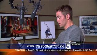 DUI Charge for Actor Chris Pine