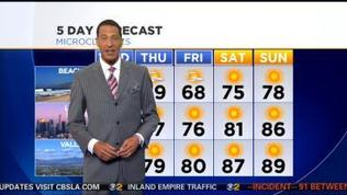 Kaj Goldberg's Weather Forecast (March 12)