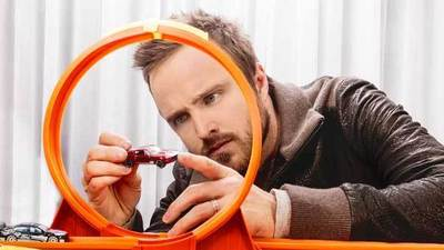Interview: Aaron Paul tries flooring it to movie stardom in 'Need for Speed'
