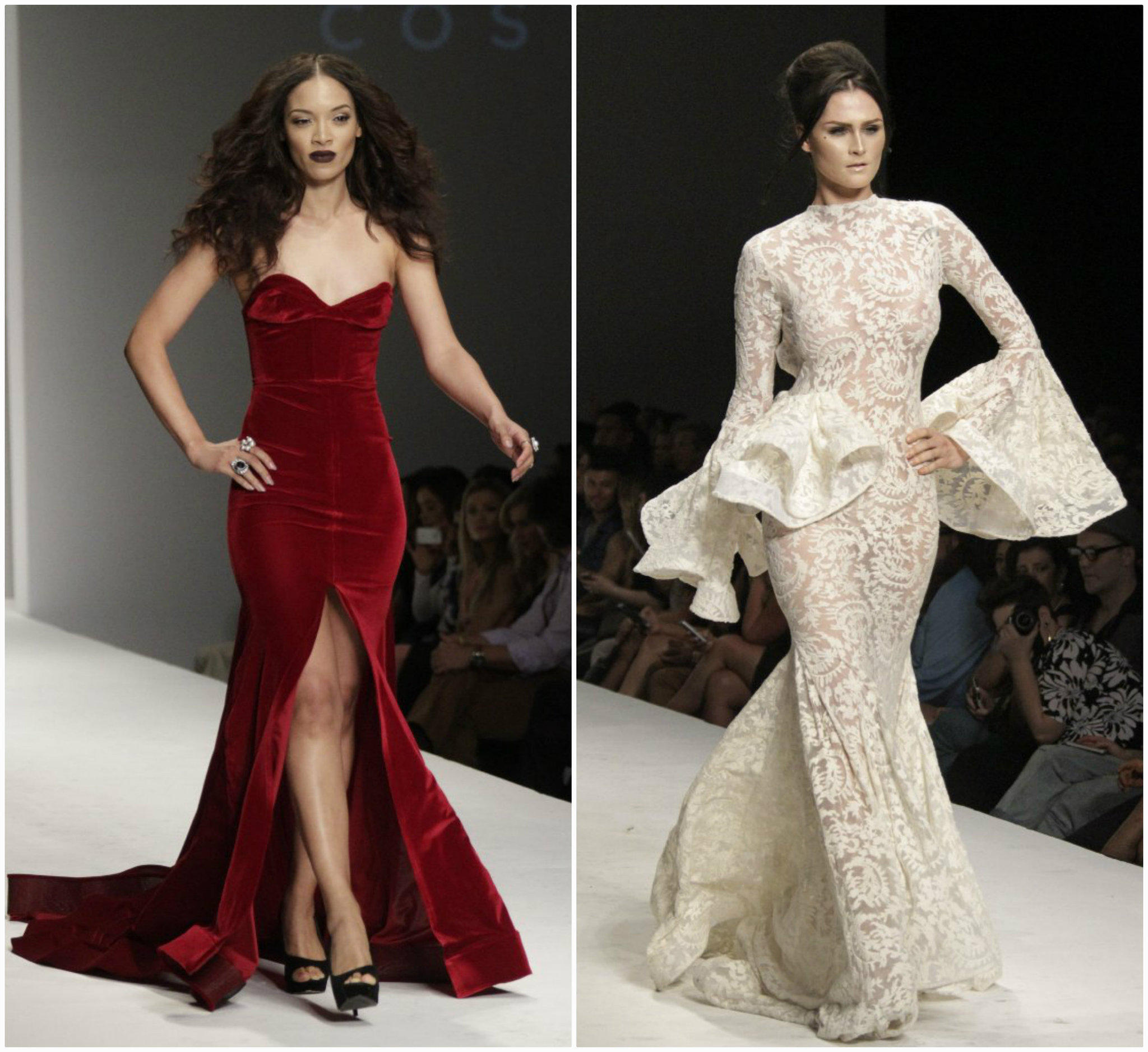L.A. Fashion Week: Michael Costello reigns with fire and ice - latimes
