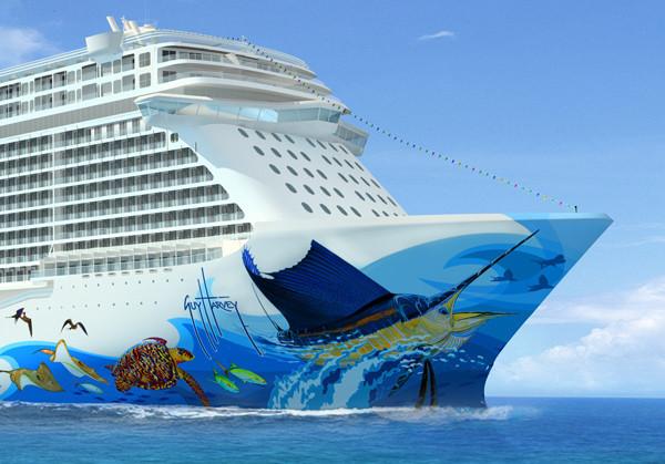 Norwegian Cruise Line Announced Wednesday That Marine Artist Guy Harvey Will Design The ...