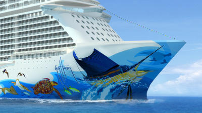 Marine artist Guy Harvey to design hull artwork for Norwegian Escape