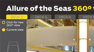 <b>Allure of the Seas:</b> Inside panoramic view