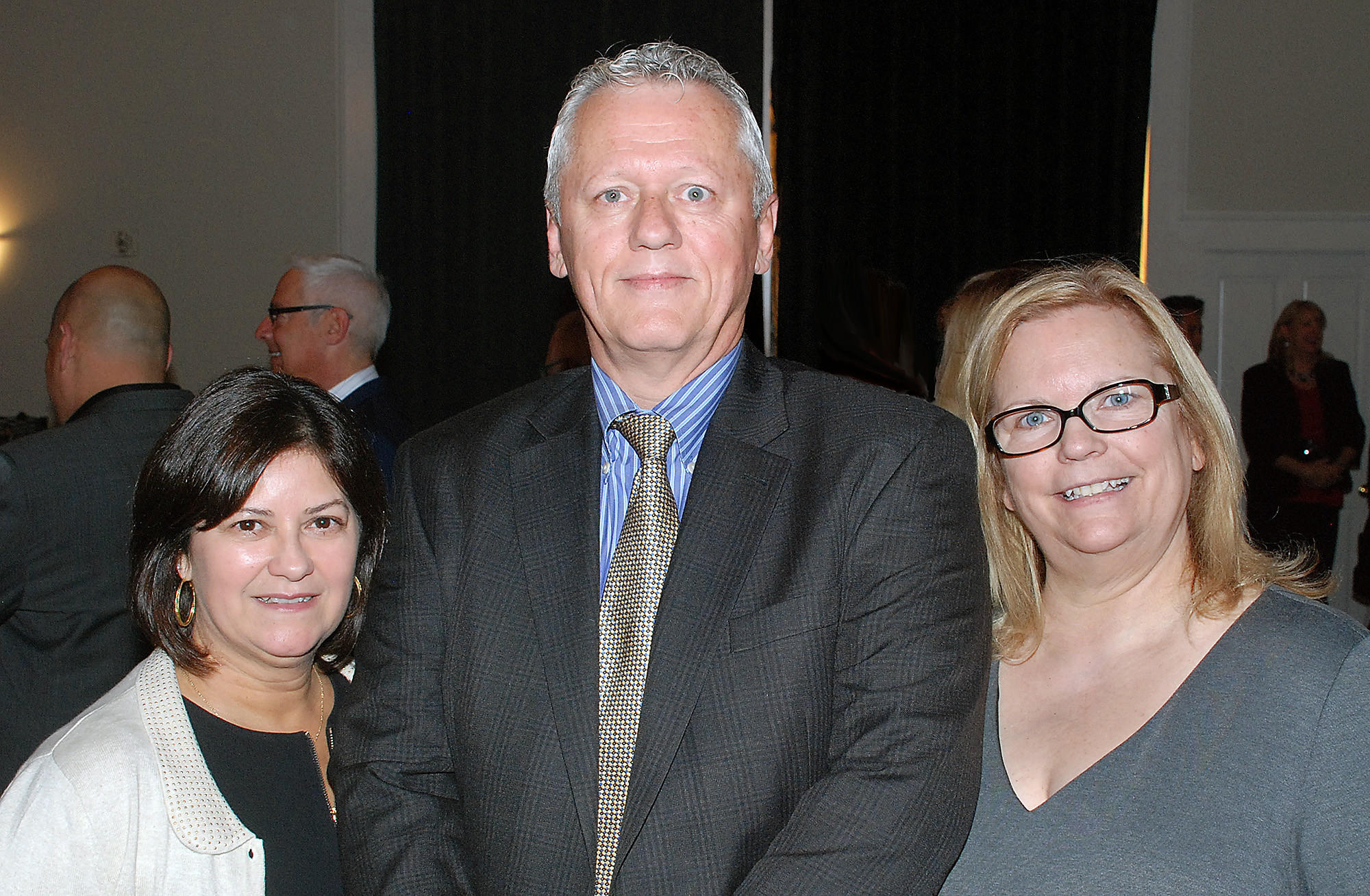 "Staged under the theme, ""There's no place like home,"" last week's gala was made possible by BTAC board members Vicki Williams, from left, Will Rogers and Susan Borders."