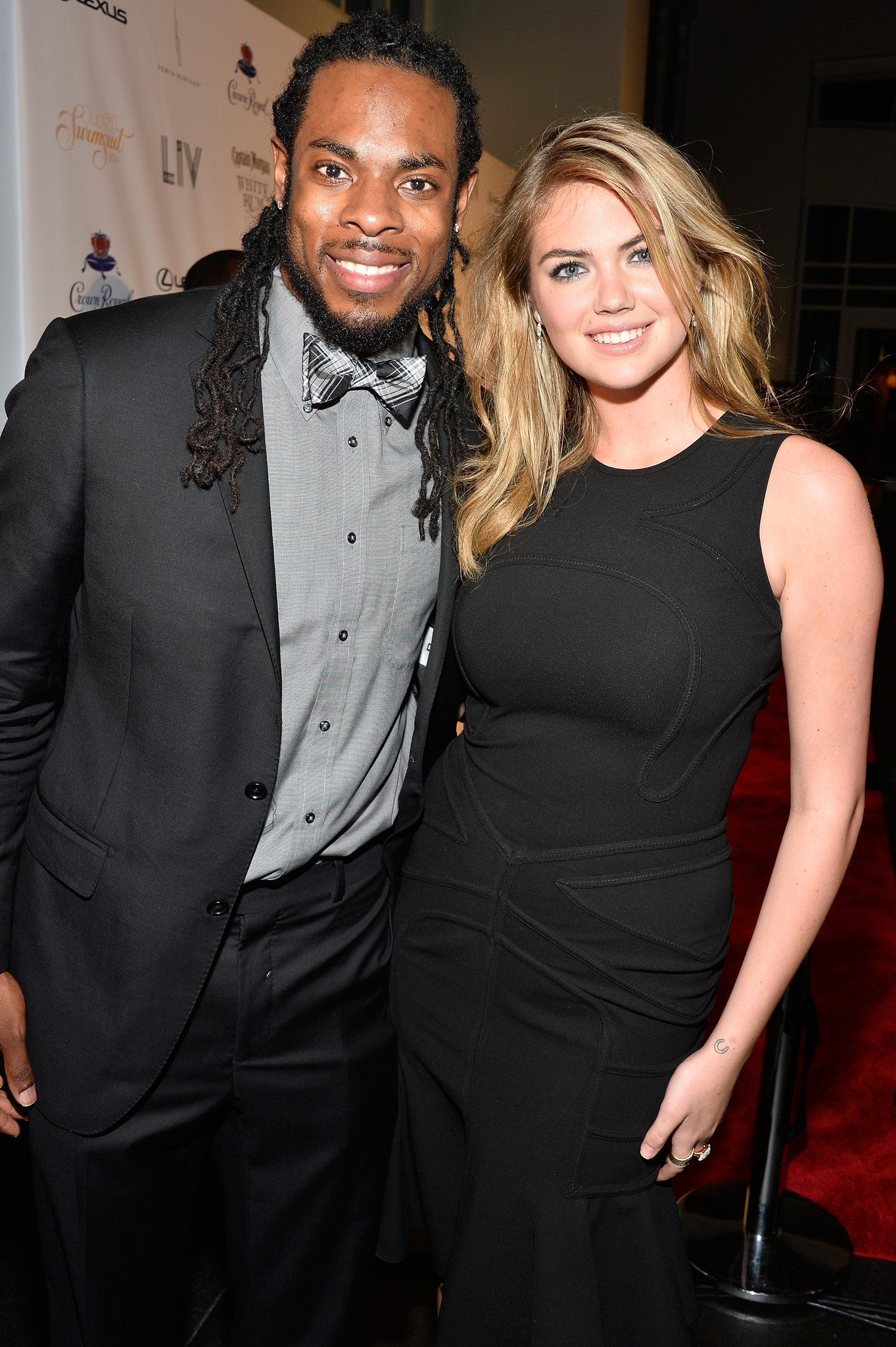 Celeb-spotting around South Florida - Richard Sherman and Kate Upton
