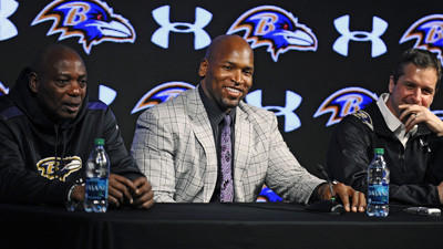 Re-signing Eugene Monroe gives the Ravens stability on the offe…