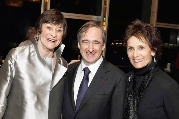 Carol Henry, James Conlon and Eva Stern