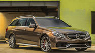 Rapid Review: Mercedes' 577-horsepower E63 AMG Wagon is a supercar with baggage