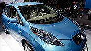 <b>Photos: </b>The Nissan Leaf