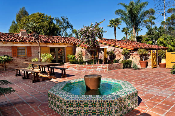 Spanish Style House Plans With Courtyard Furthermore Spanish Hacienda