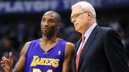 Phil Jackson leaves Lakers in the dust