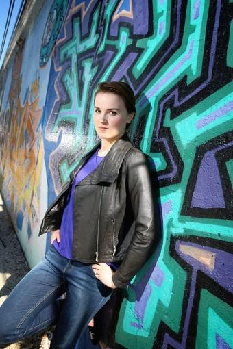 Chicago based author Veronica Roth.