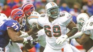 Fitness Profile: Ex-Dolphin targets topic of obesity