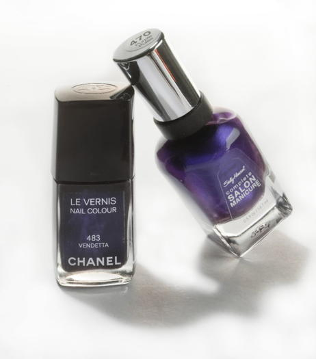 HIGH VS. LOW: Nail polish