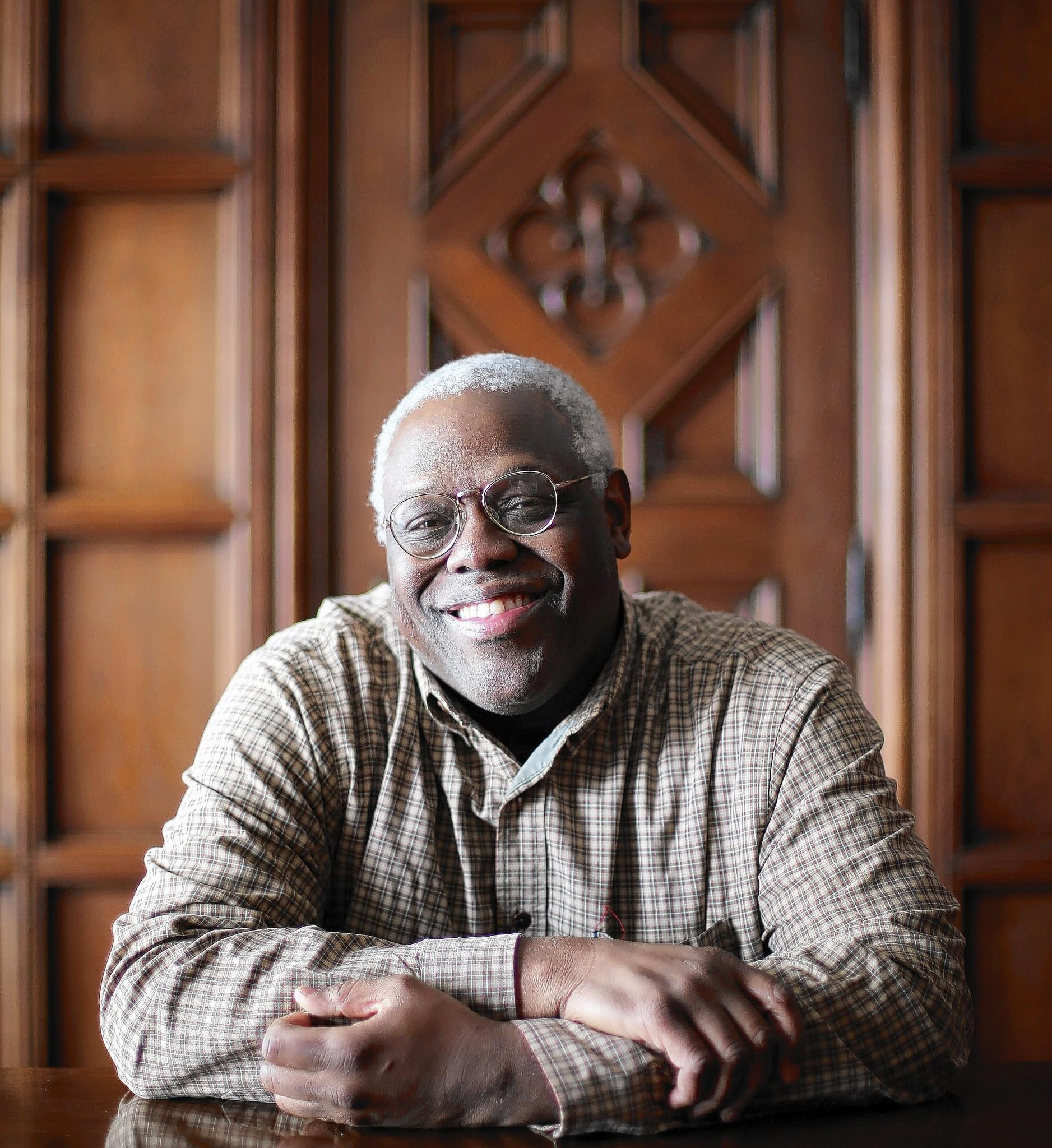 """Eric Charles May tackles morality, faith and community in his new book """"Bedrock Faith."""""""