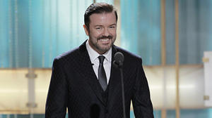 Golden Globes: Host Ricky Gervais was just too nasty.