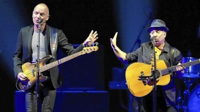 Paul Simon & Sting: The latest in pop duos