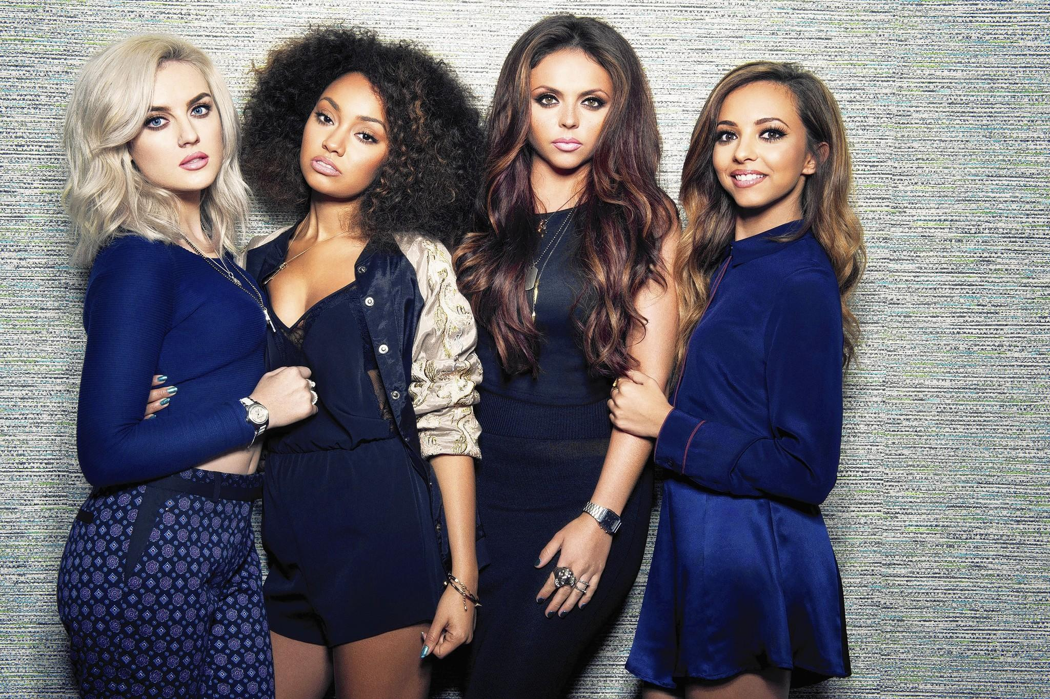 Pop group Little Mix featuring (left to right): Perrie Edwards, Leigh-Anne Pinnock, Jesy Nelson and Jade Thirlwall.