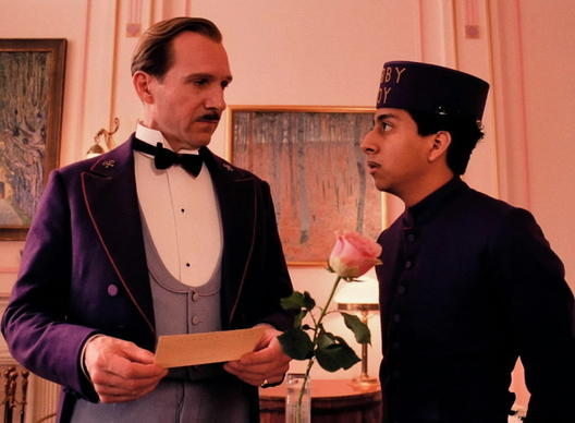 "<i> **** (out of four)</i><br> <b>What we said:</b> ""Anderson shows the value of a filmmaker working at the full, precise capacity of a master chef. 'The Grand Budapest Hotel' is the movie that earns him his third Michelin star."" <i>-- Matt Pais </i><br><br><a target=""_blank"" href=""http://www.redeyechicago.com/entertainment/movies/redeye-the-grand-budapest-hotel-review-wes-anderson-20140307,0,5366347.column""<b>Click here for our full review</a>"