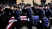 Memorial and funeral service underway for fallen LAPD officer