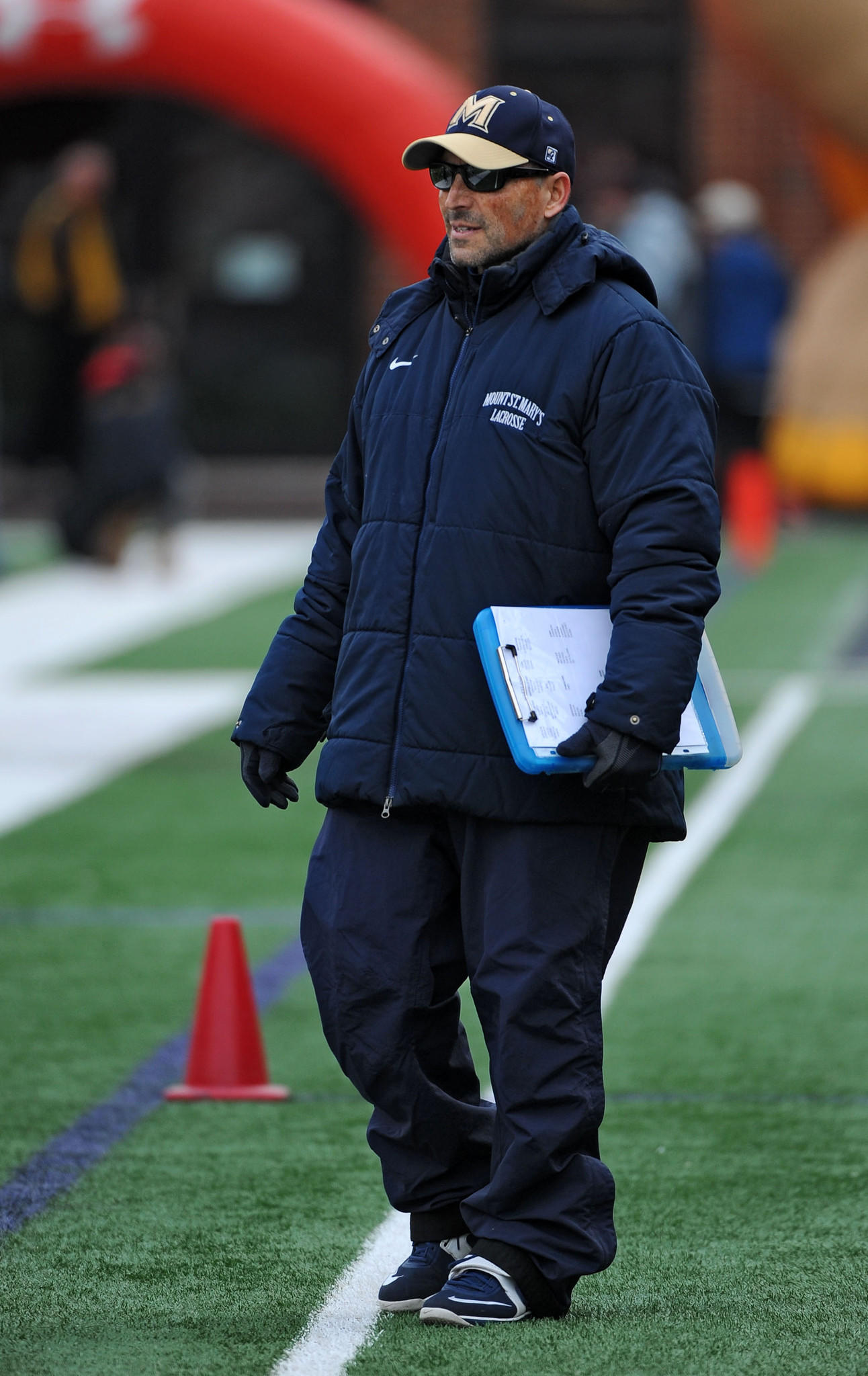 """""""Every loss hurts, but that one was one that we let get away on account that we didnt stay fully committed for 60 minutes,"""" Mount St. Mary's men's lacrosse coach Tom Gravante said of a defeat against then-winless Manhattan on Sunday."""