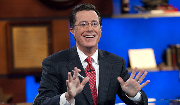 "Stephen Colbert was outraged that President Obama did a viral video, and so was his ""Papa Bear"" Bill O'Reilly."