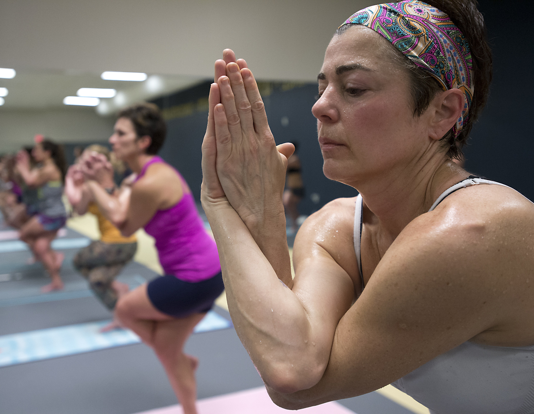 PICTURES Sweating It Out With Bikram Yoga