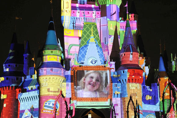 Cinderella Castle during 'The Magic, the Memories and You'