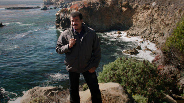 "Host and astrophysicist Neil deGrasse Tyson shares a story about meeting an inspirational force in his life in the series premiere episode of ""Cosmos: A Spacetime Odyssey."""