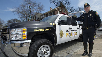 Officers will be walking the beat in Bethlehem