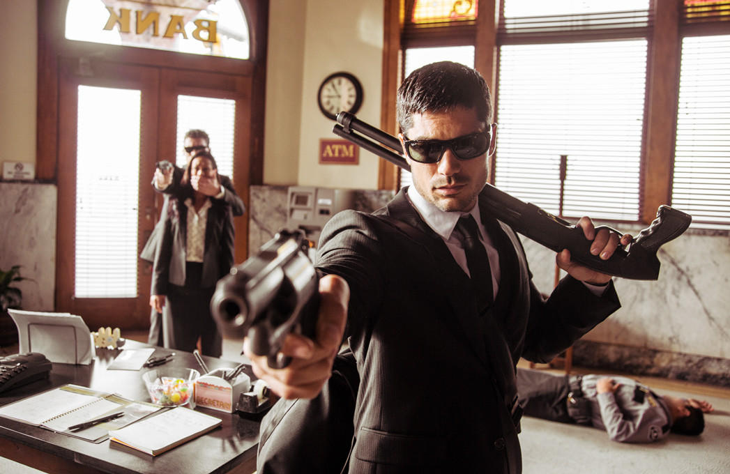 """D.J. Cotrona stars as Seth Gecko in """"From Dusk Till Dawn: The Series."""""""