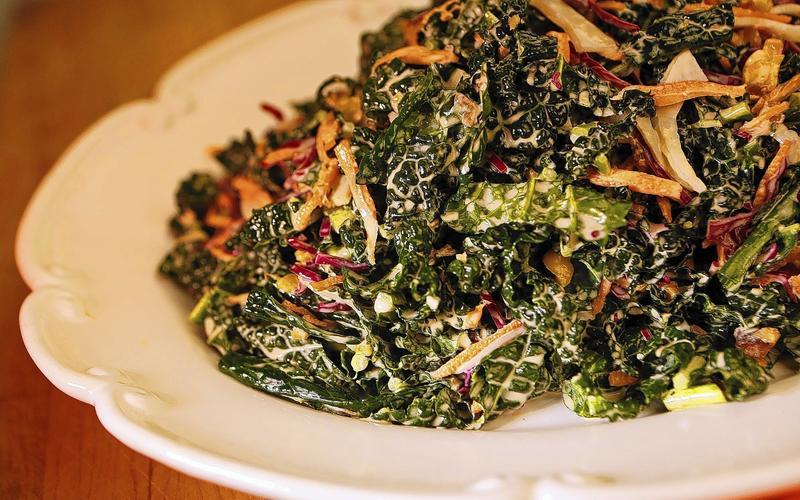 Balboa Cafe's kale slaw