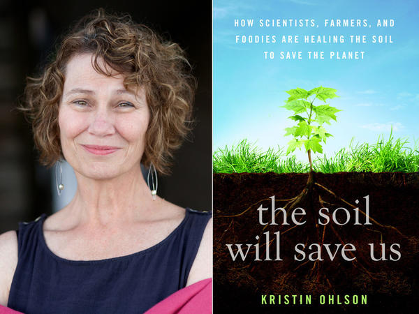 Kristin Ohlson and book jacket