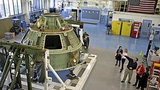 Video: Orion returns to NASA Langley Research Center