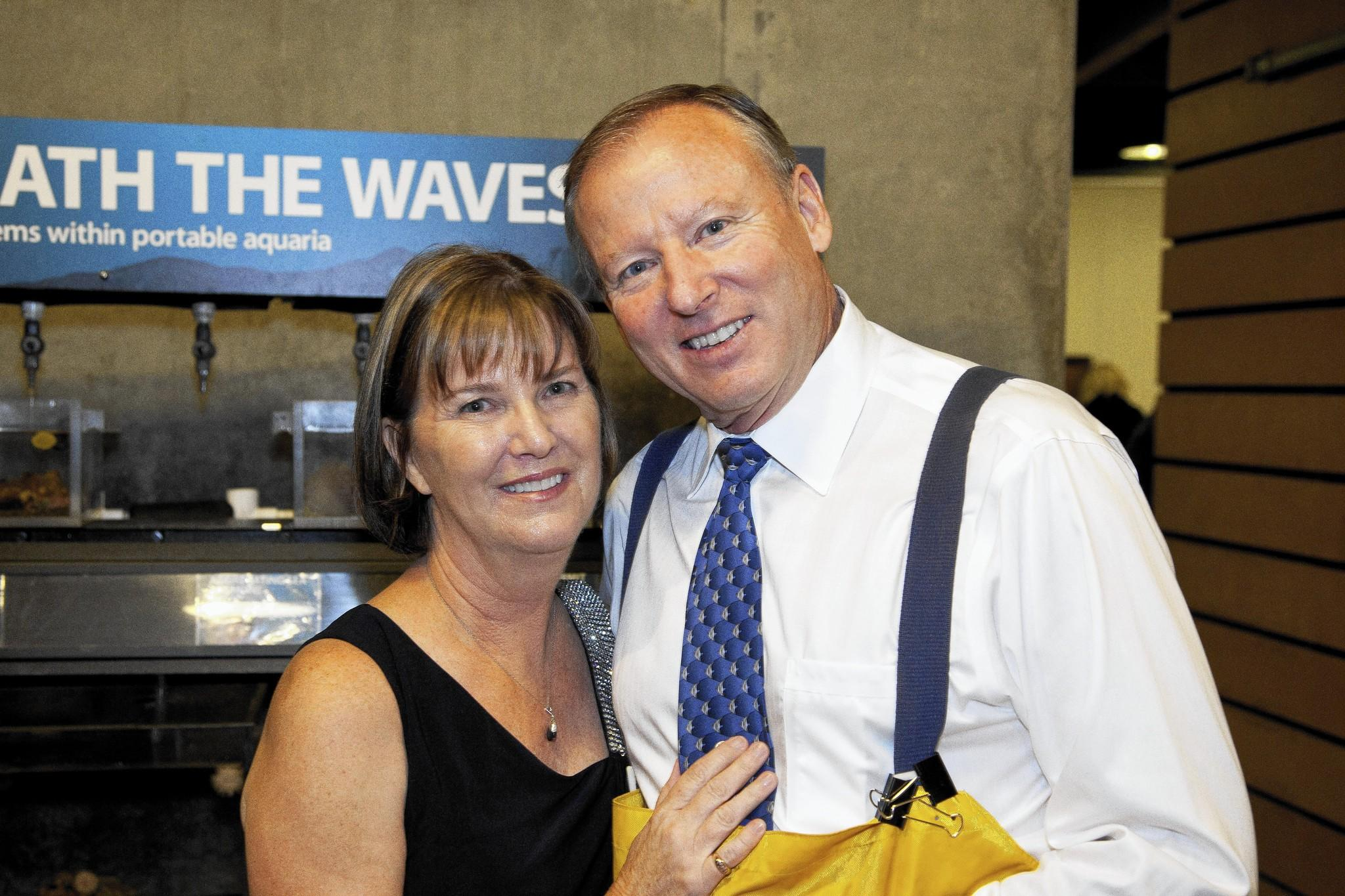 More than 600 patrons, including Dan and Roxanne Stetson, attended the 2014 Jazz Festival.