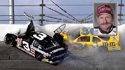 Cars Racing Cause Crash