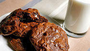 Ooey-gooey chocolate cookies
