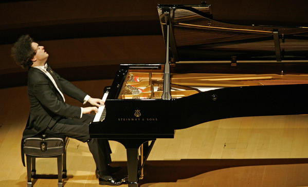 Russian pianist Evgeny Kissin will perform at the Walt Disney Concert Hall.