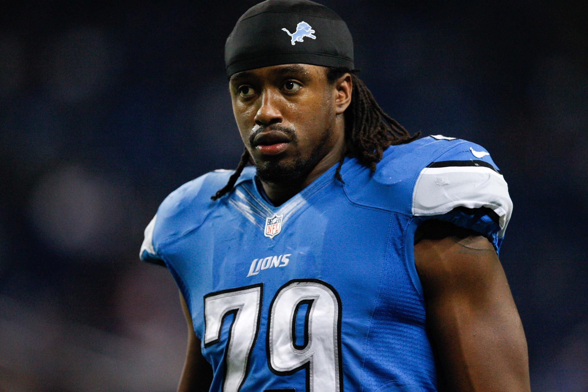 Lions defensive end Willie Young in 2013.