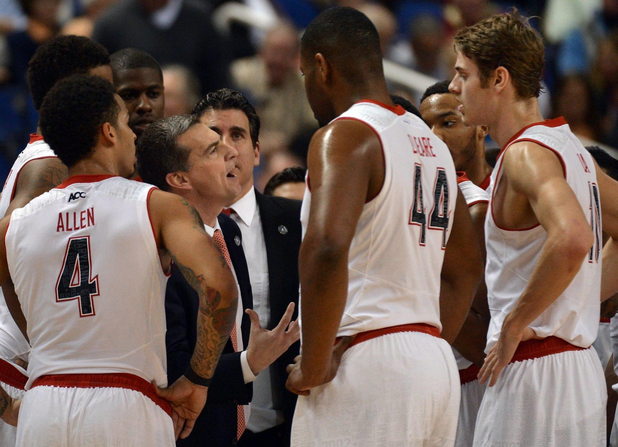 Maryland's Mark Turgeon, shown during the second half of the Terps' 67-65 loss to Florida State, is confident in the program's direction.