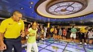 High-tech fun aboard Disney Dr