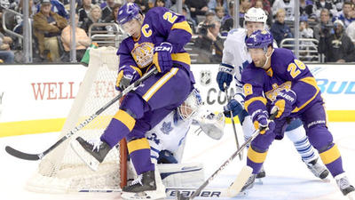 File Under 'BUE! (Best Uniforms Ever)': Kings' Look Better Than Usual But Win Streak Comes To Frustrating End In 3-2 Loss To Maple Leafs