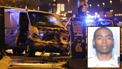 Off-duty Chicago cop killed in collision with van fleeing suburban police